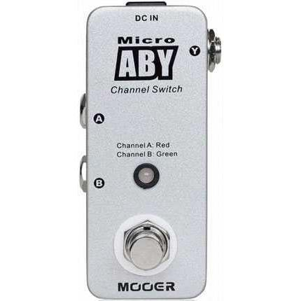 Mooer MAB1 Micro Aby Box Footswitch Pedalı