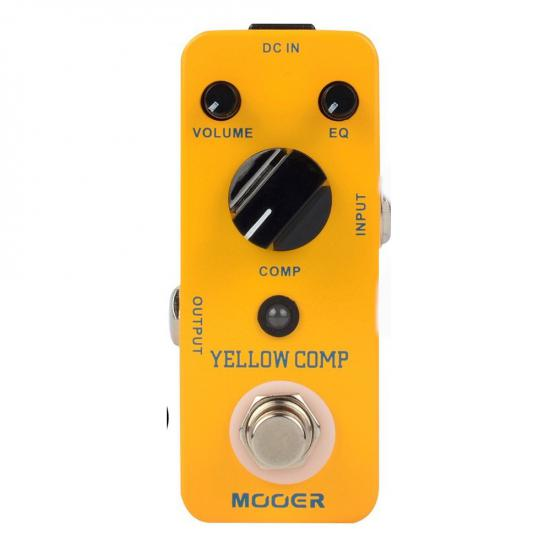 Mooer Yellow Comp Compressor Pedalı