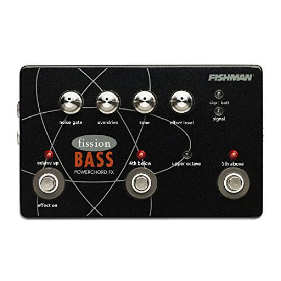 Fishman Fission Bass Powerchord FX Bas Distortion & Octave Pedalı