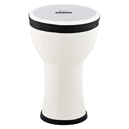 Nino Elements Mini 6 Inch Djembe (Snow)